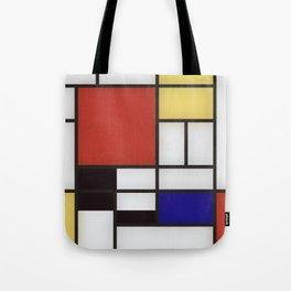 Piet Mondrian Tote Bag