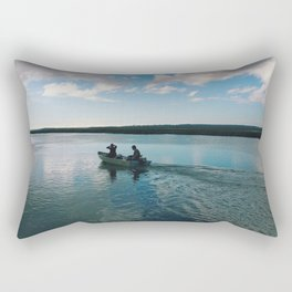 Boating Date Rectangular Pillow