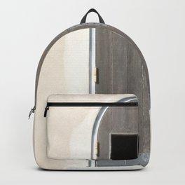 antique door Backpack