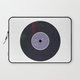 Vinyl Record Star Sign Art | Sagittarius Laptop Sleeve