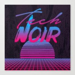 Tech Noir Canvas Print
