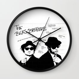 The Blues Brothers Wall Clock