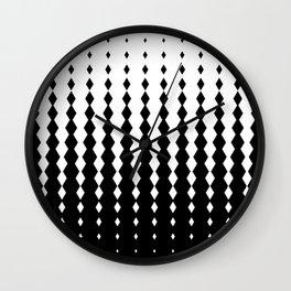 RHomb Pattern Wall Clock