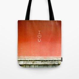 I <3 U Tote Bag