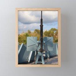 20 mm Anti-Aircraft Machine Gun Framed Mini Art Print