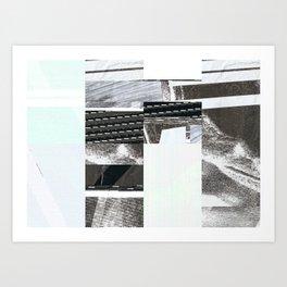 kiohx Glitch Art Print