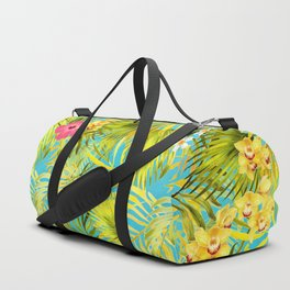 Meet Me At The Cabana Hummingbird Duffle Bag