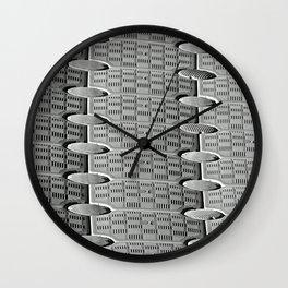 Pattern in Plastic Wall Clock