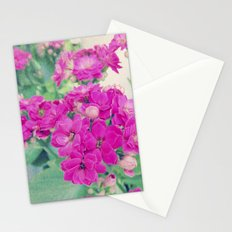 Get Well | Beautiful Rose Like Flowers Stationery Cards