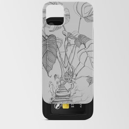 Monstera. Living iPhone Card Case