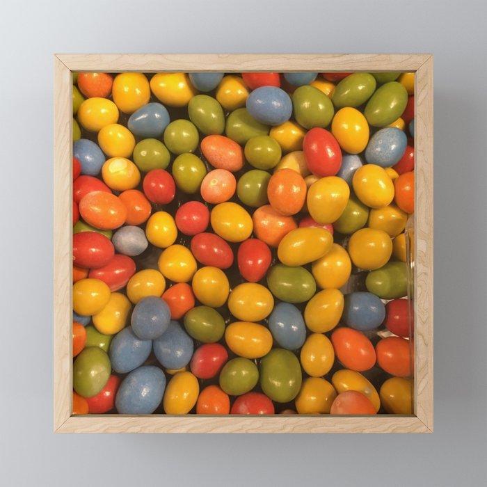 Choco Candy Framed Mini Art Print