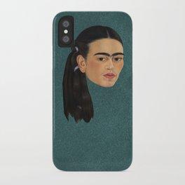 Frida Kahlo Self Portrait iPhone Case