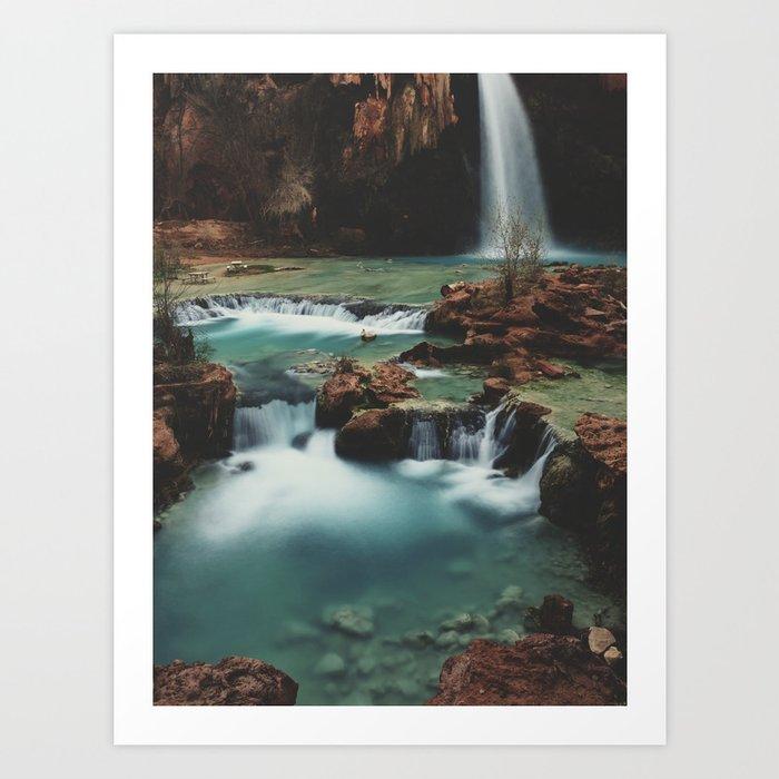 Havasu Falls Art Print