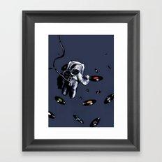 Interstellar Record Hunt Framed Art Print