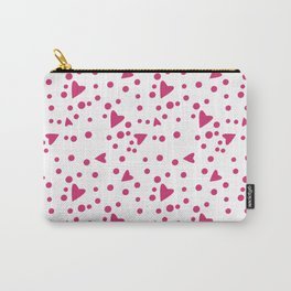 Hada con manto de corazones Carry-All Pouch