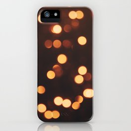 Christmas Lights II iPhone Case