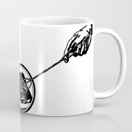 Making Toast by Fire Coffee Mug