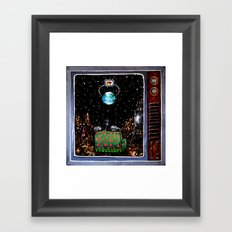 Space Lord Mother Framed Art Print