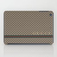 gucci iPad Cases featuring Gucci Class by Goldflakes