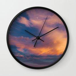 Charleston Sunset X Wall Clock