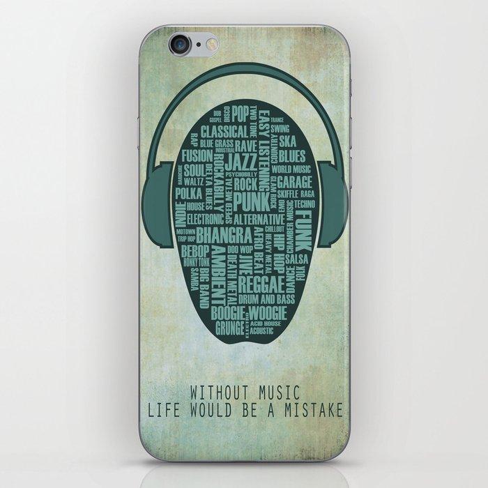I love music iPhone Skin