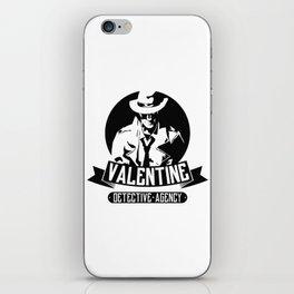 Valentine Detective Agency iPhone Skin