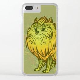 Sylvan Pomeranian Clear iPhone Case