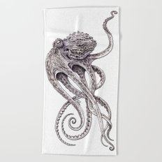 Cephalopod Beach Towel