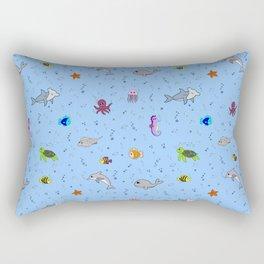 Sea creature pattern Rectangular Pillow