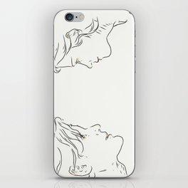 Whoufflè iPhone Skin