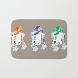 R2-D2 (Vector Art) Bath Mat
