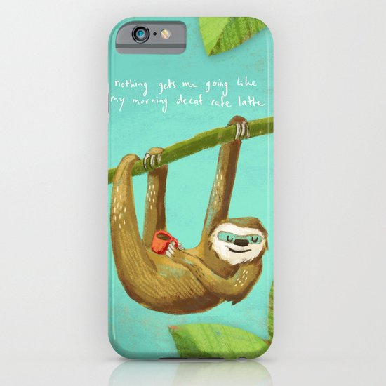 Nothing gets me going like my morning caffe latte iPhone & iPod Case