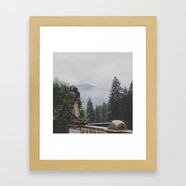 In The Mists of Romania Framed Art Print