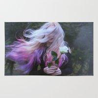 skyfall Area & Throw Rugs featuring Skyfall by Maja Topcagic
