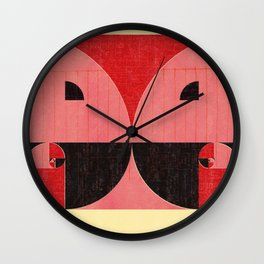 Room for Filariasis Wall Clock
