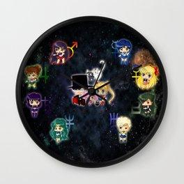 Sailor Moonies Wall Clock