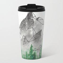 Geometric Mountain 2 Travel Mug