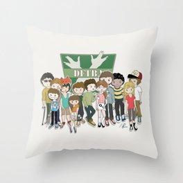 "The ""Green Team""  Throw Pillow"