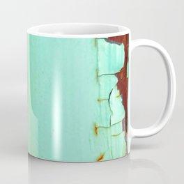 Rusted Tiers Turquoise Coffee Mug