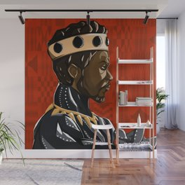 Long Live the King Wall Mural