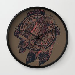 The Pirate's Assistant Wall Clock