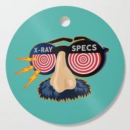 X-Ray Beaglepuss Specs Cutting Board