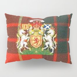 RED & GREEN CAMERON TARTAN ROYAL SCOTLAND Pillow Sham