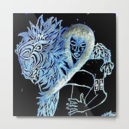 Lioness of Love Metal Print