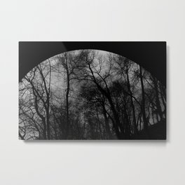 Abstract Trestle Trees Metal Print
