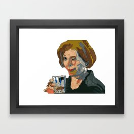 Abstract Winker Framed Art Print