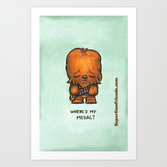 Super Emo Chewie iphone5 Art Print