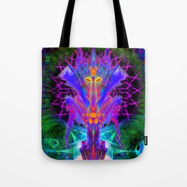 Lord Rokklu From Orion (Vallios Visual Kung Fu Collab) Tote Bag