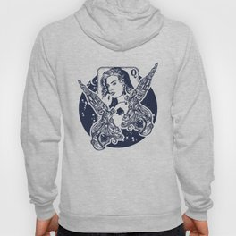 Queen playing card Hoody
