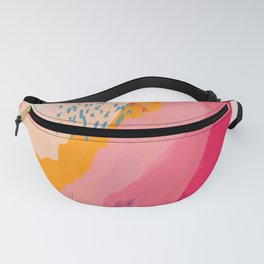 Abstract Line Shades Fanny Pack